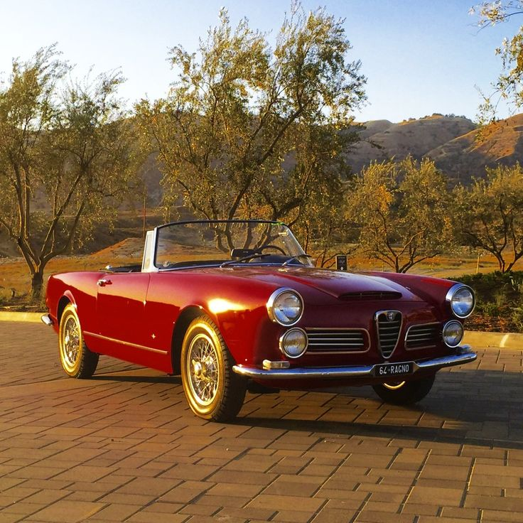 271 Best Alfa Romeo 2600 Spider Bj 1962