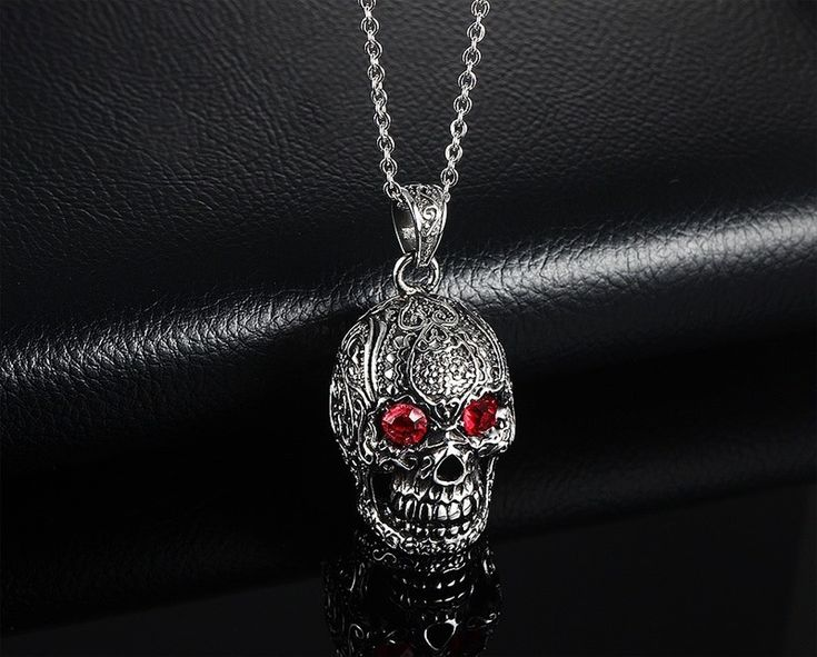 Like and Share if you want this  Men Skull Pendant Necklace   Tag a friend who would love this!   FREE Shipping Worldwide   Get it here ---> https://getskulls.com/men-skull-pendant-necklace/