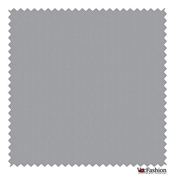 Knitted Pique Fabric Vector Graphic (Gray, Black and White)