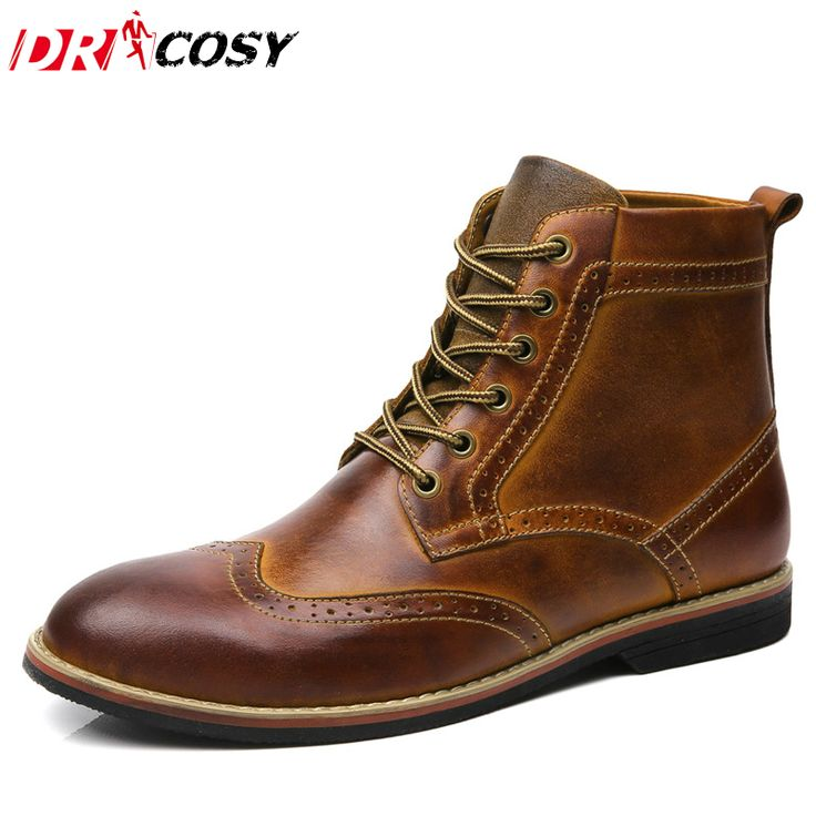 Cheap boots brand, Buy Quality boots men directly from China boots men  brand Suppliers: SERENE Brand 2017 Men Boots Men Autumn Winter Boots Size  Russian ...