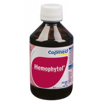 Hemophytol® Complément alimentaire à base de plantes et de minéraux.  Contribue à la formation normale des globules rouges et de l'hémoglobine ainsi qu'au transport normal de l'oxygène dans l'organisme, grâce au fer.