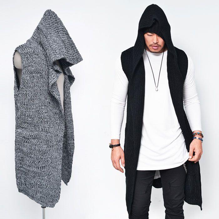 Men'S Cardigan Polyester Sweater Acrylic 97