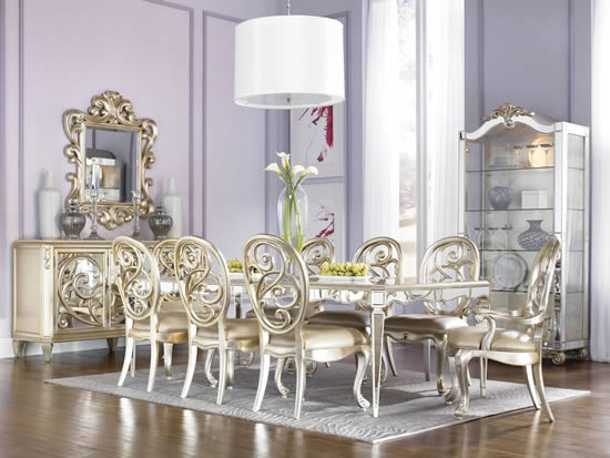 Jessica McClintock Couture Dining Rm