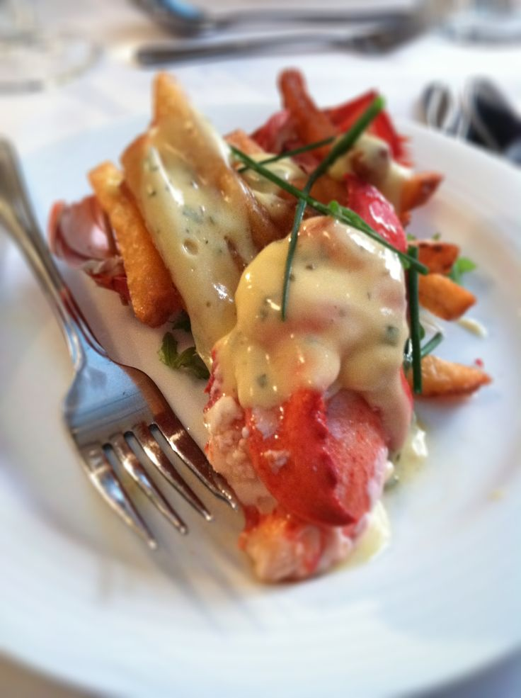 Butter Braised #Lobster #Poutine at the #PEI #Shellfish #Festival, #FallFlavoursPEI #Canada #Culinary #Travel FallFlavours.ca