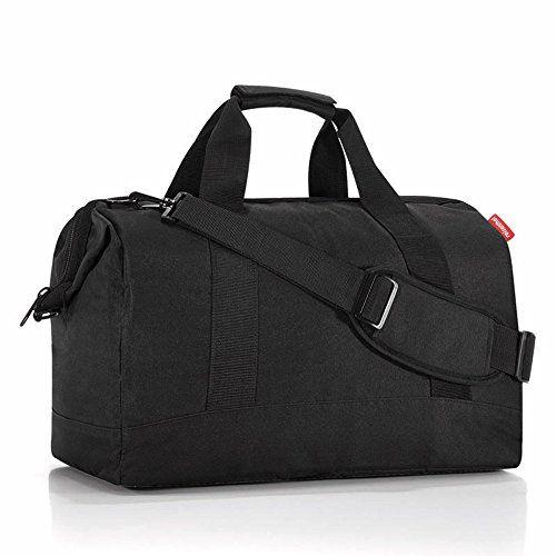 Reisenthel allrounder L Sporttasche, schwarz Polyester 48x29x39.5cm - http://on-line-kaufen.de/reisenthel/black-reisenthel-ms7003-allrounder-m-fleur-mit