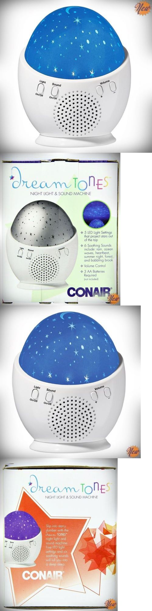 Sound Therapy: Sleep Noise Machine Baby Night Dream Sound Generator Soothing Nature Therapy Led BUY IT NOW ONLY: $67.36