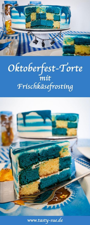 Oktoberfest-Torte mit Frischkäsefrosting