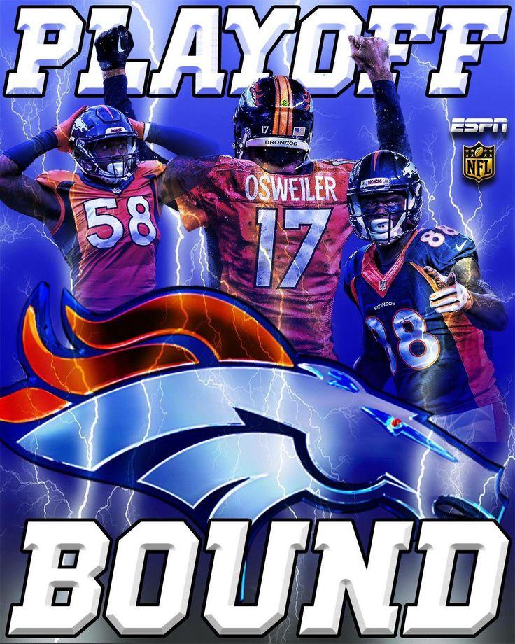 Denver Broncos 2015 Playoffs