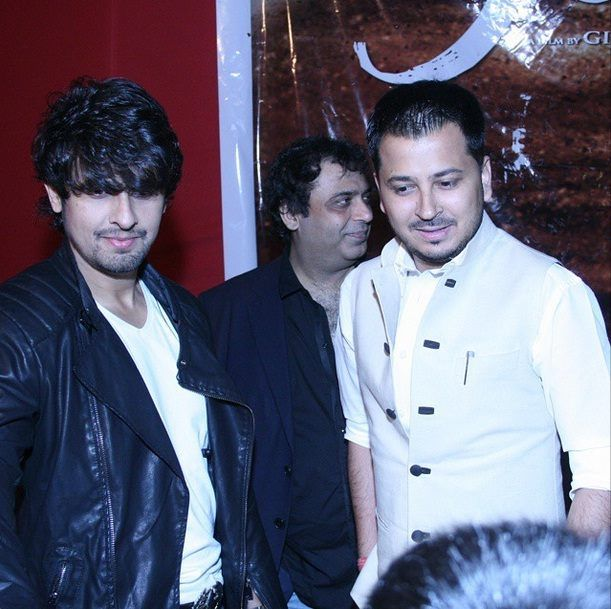 With the #bollywood #singer Mr. Sonu Nigam.
