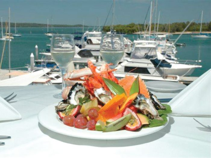 Stunning Waterfront Location – Exquisite Seafood at The Point Restaurant. Situated in the attractive, modern, Soldiers Point Marina Complex – The Point Restaurant guarantees breathtaking views of Port Stephens, no matter what time of day you choose to dine. #pointrestaurant #portstephens #nelsonbay