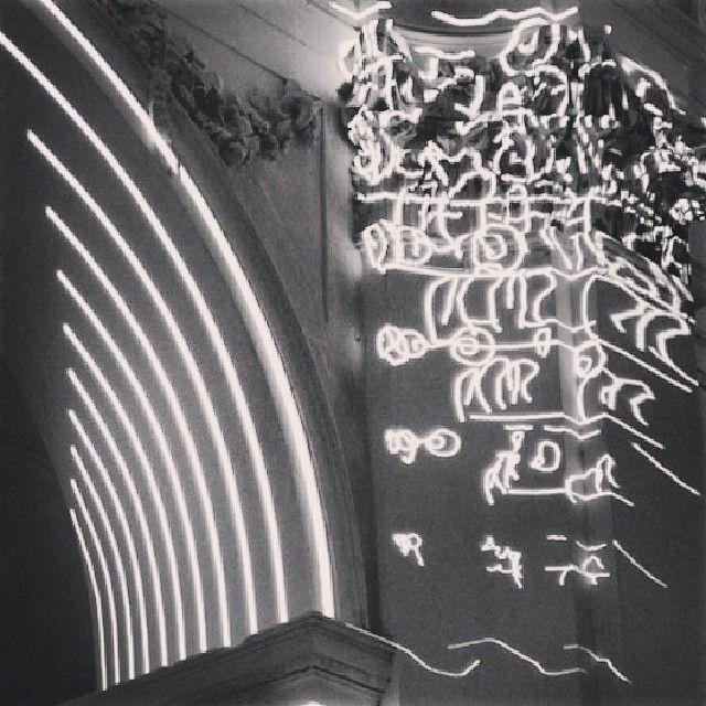 sinestesie barocche - allestimento scenografico