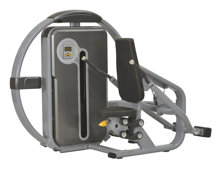 Commercial indoor gym fitness equipment seated cable