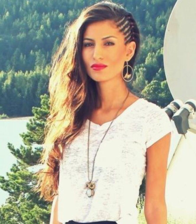 Half braided hair Oh yes I'm doing this one next week