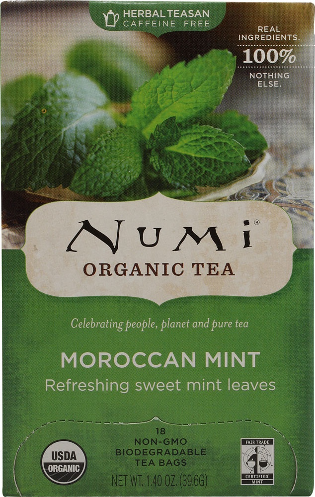 Numi Organic Tea Moroccan Mint - shout out to @Kameron Brewer for bringing this back into my life!