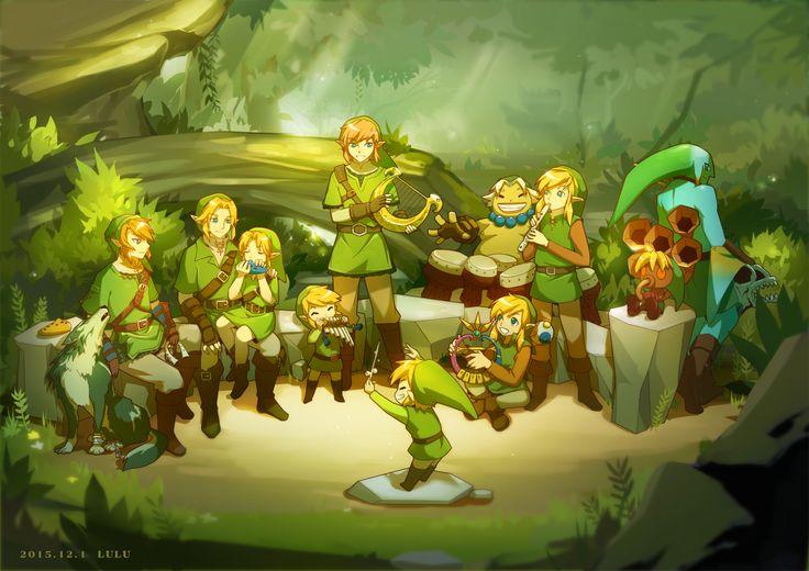 リンクたちのコンサート - The Legend of Zelda | The Links' concert