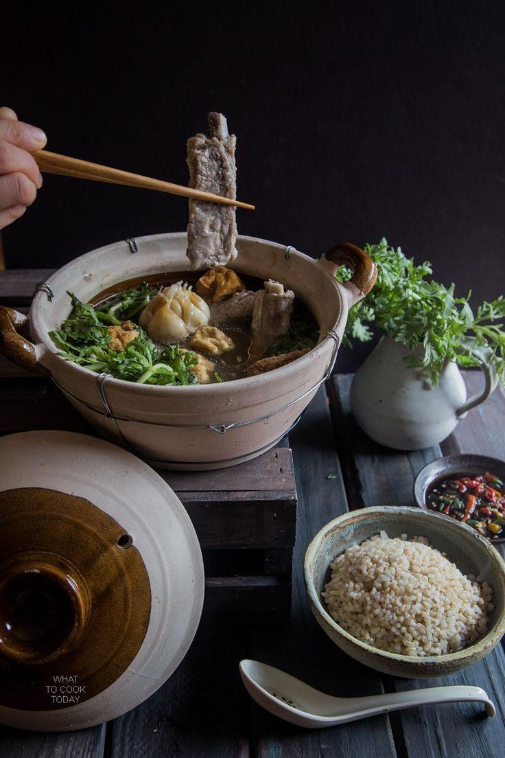 Pork Bone Tea Soup Bak Kut Teh Asian Food Photography Food Asian Recipes