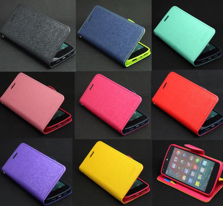New Deluxe Wallet Leather Flip + Tpu Skin Case Cover For LG Google Nexus 5 E980 #UnbrandedGeneric