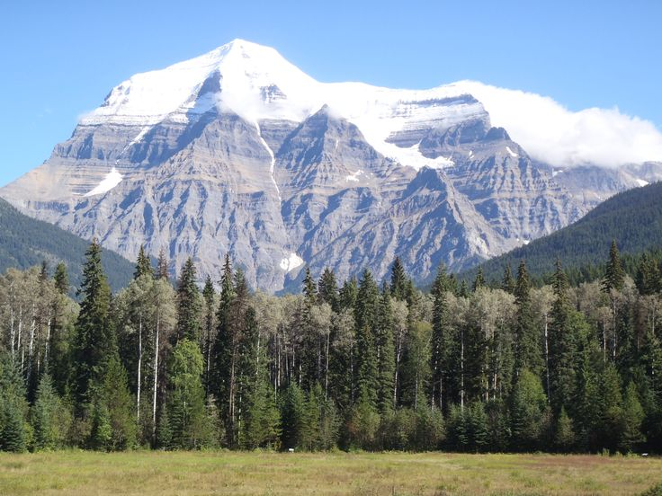 Mt Robson, the perfect model