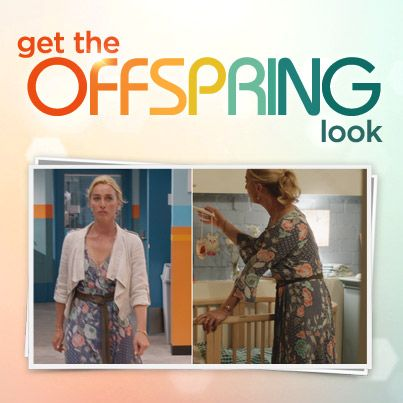 Must-have piece of the season – Nina wears a beautiful printed dress by Tigerlily
