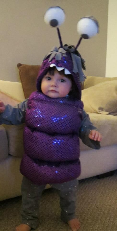 Fantastic BOO costume! @Nicole Coombe I want your kid to have this costume!!!