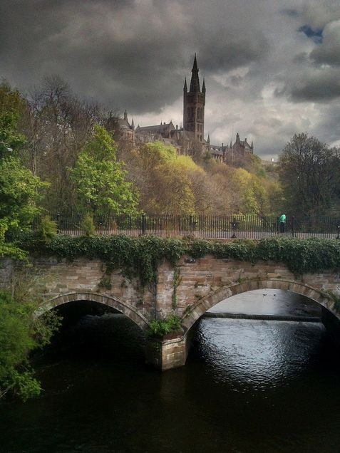 The Tower from Partick Bridge » by AKMA Scotland