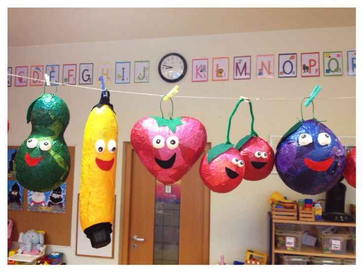 Fruit lampions, we had so much fun to do them ☺️