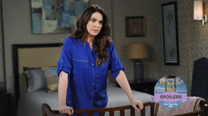 """""""Days of Our Lives"""" spoilers for Tuesday, January 24, tease that Chloe (Nadia Bjorlin) will be forced to come clean. Brady (Eric Martsolf) just told Nicole (Arianne Zucker) to stay strong for her baby and she's going to want an explanation. Chloe will admit that Nicole is Holly's mother, but she won"""