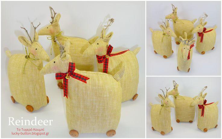 Tilda's reindeer, Υφασμάτινο ταρανδάκι