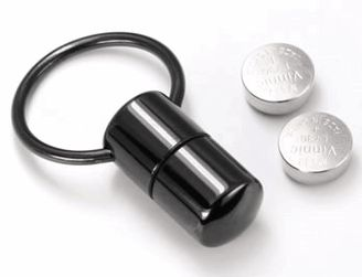 Black Titanium Vibrating Captive Bead Ring - VIBcaptive.  Follow this link - http://www.bodyjewelry.com/bltivicaberi.html?SSAID=714532#.UnLZZvkzg-U for details.  $28.99
