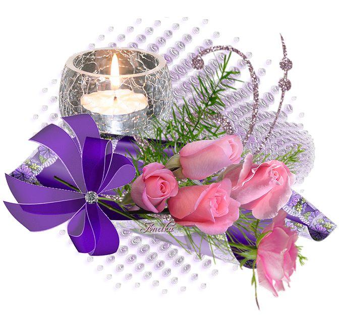 rózsaszín  rózsák lila dí