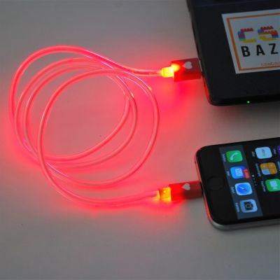 USB Lightning töltő, világítós kábel iPhonehoz - Csabazár webáruház - csabazar.hu #iphone #lightningcable #iphonecable #datacable #techdeals