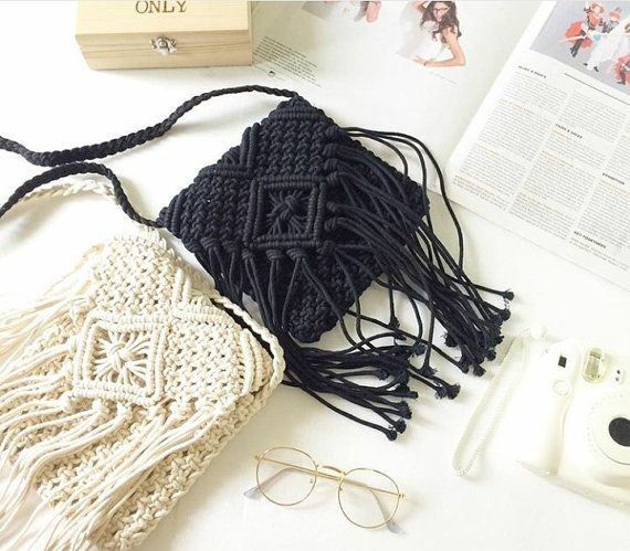 Hey, I found this really awesome Etsy listing at https://www.etsy.com/listing/293461887/summer-hippie-crochet-fringe-bag-purse