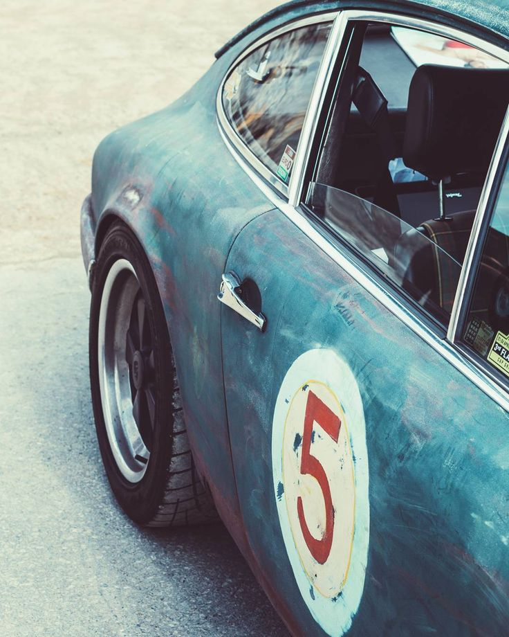 In rust we trust. – Porsche