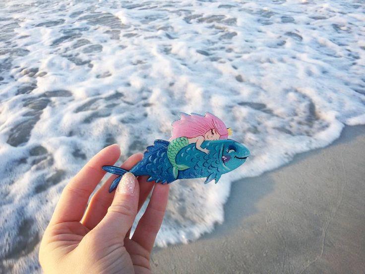 281 отметок «Нравится», 5 комментариев — Anastasia Stolbova (@stolbovaillustrator) в Instagram: «когда за окном серые пейзажи ноября, всегда приятно нырнуть в морские воспоминания - они согреты…»