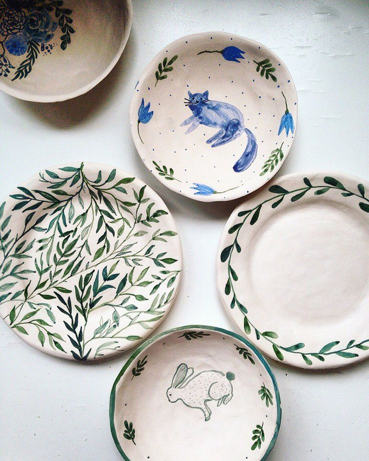 Best 25+ Painted ceramic plates ideas on Pinterest ...