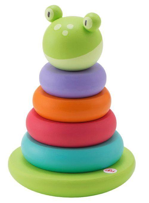 Magnetyczna układanka na podstawce Żabka 6 el. Sevi | ZABAWKI \ Zabawki drewniane NA PREZENT \ Prezent uniwersalny ZABAWKI \ Puzzle i układanki \ Układanki magnetyczne Sevi \ Zabawki edukacyjne | Hoplik.pl wyjątkowe zabawki