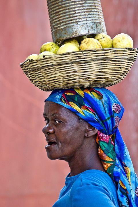 A Haitian machann.