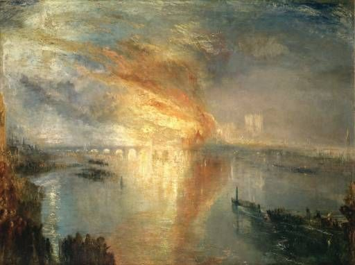 Joseph Mallord William Turner, 'The Burning of the Houses of Lords and Commons, October 16, 1834' exhibited 1835