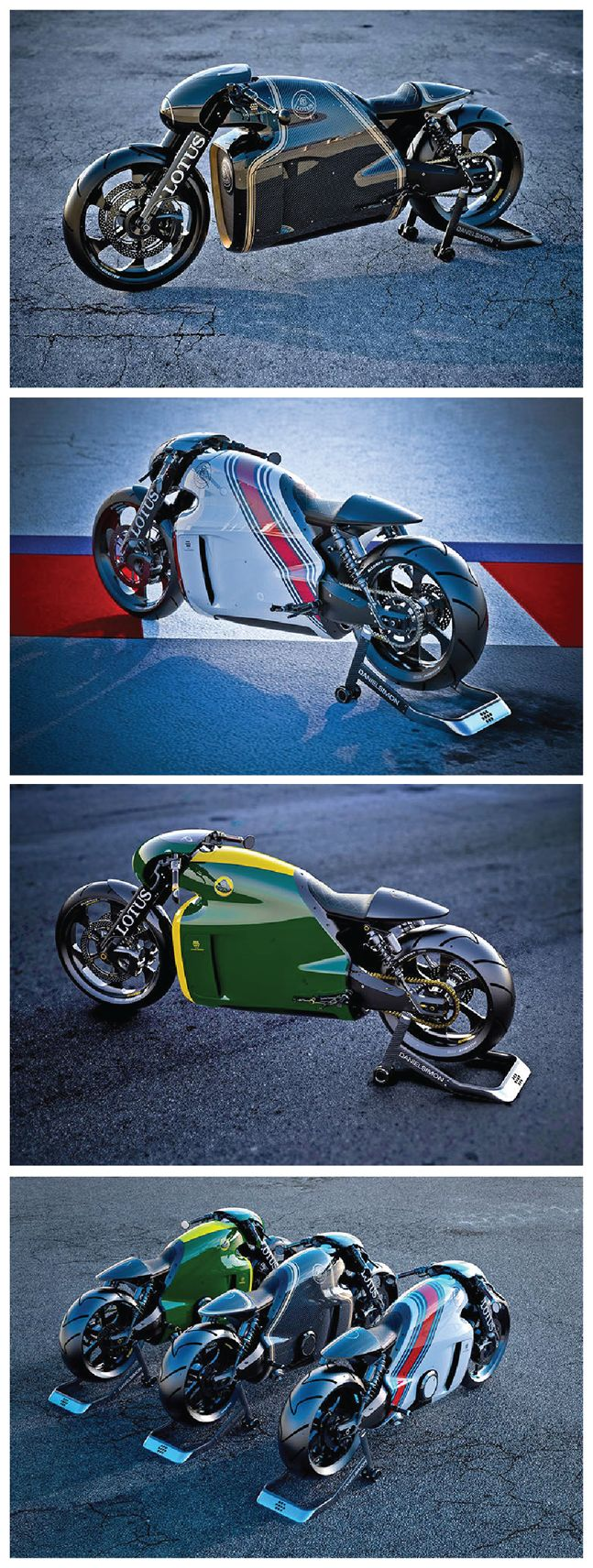 Lotus Builds A Rad Superbike Evocative Of U201cTronu201d