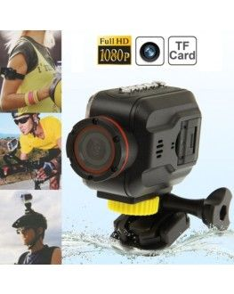 Full HD 1080P Waterproof Mini DV Sport Camera with 1.5 inch HD TFT LCD Screen, Support TF Card / HDMI Output, 120 Degree Viewing Angle, 30m Waterproof