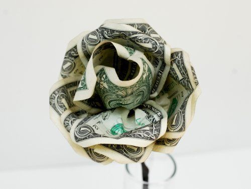 Dollar Bill Roses Easy Video Instructions Would Make A