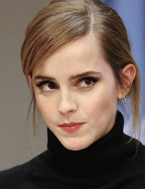 dailywatson:    Emma Watson speaks at the launch of the HeForShe...