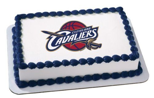 NBA Cleveland Cavaliers~ Edible Cake Image Topper * Insider's special review you can't miss. Read more  : Decorating Tools