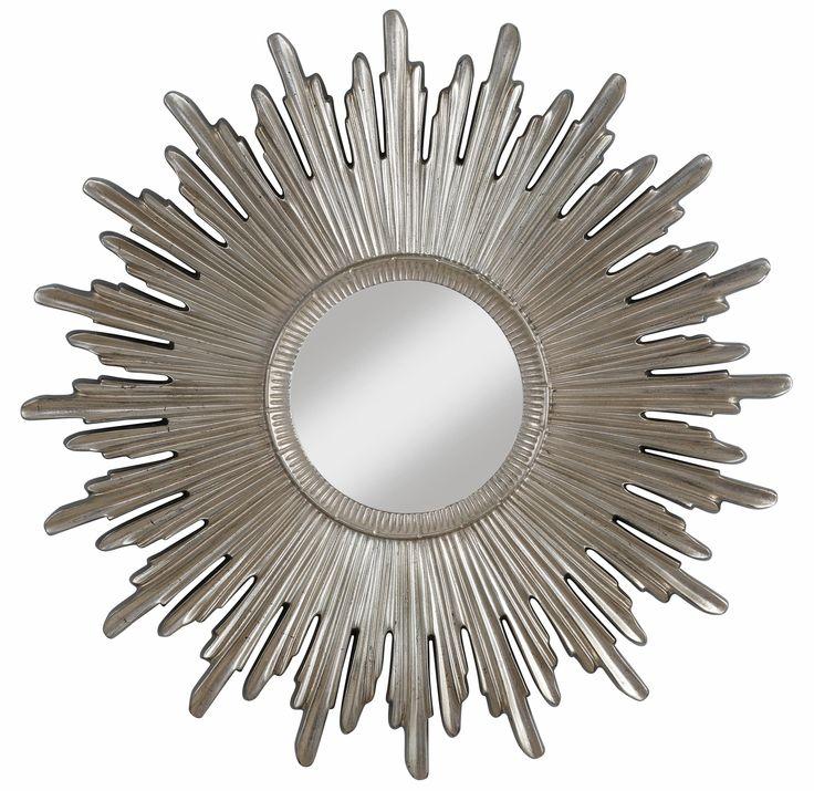 Als Highlight in deinem Zuhause setzt der Spiegel von Home affaire prunkvolle Akzente an deiner Wand. Ob romantisch oder modern – mit seiner Sonnenoptik und einem herrlichen Materialmix passt er sich in jedes Wohnambiente ein.