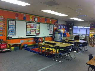 Self contained classroom set-up