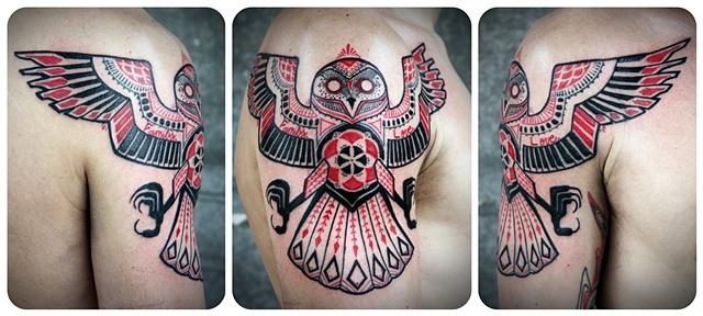 David Hale tattoo