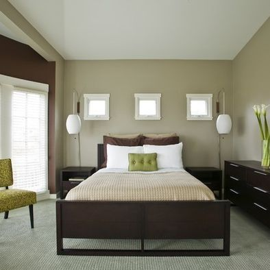 Bedroom Ideas Brown green and brown bedroom ideas design, pictures, remodel, decor and