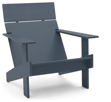 Lollygagger Lounge, Charcoal Grey contemporary-outdoor-chairs