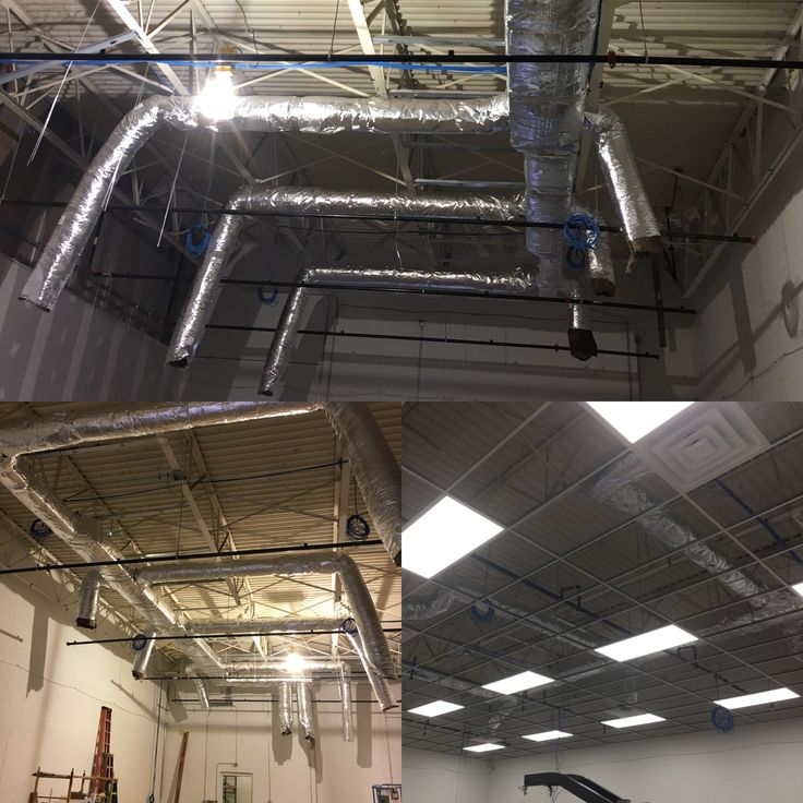 Commercial duct and exhaust fan system in starkcounty