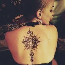 Bildergebnis für back tattoos that look good in a dress